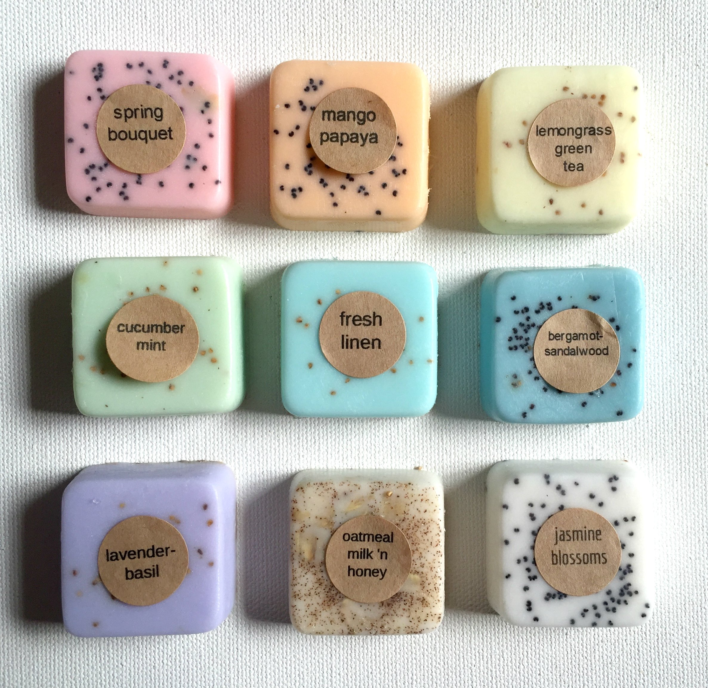 100 Wedding Favors: Soap Favors for Wedding Favors, Bridal Shower Favors, or Baby Shower Favors by kitschandfancy