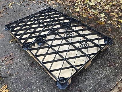 Abri de jardin Base Grille surélevée Kit 7 x 4 = Kit Eco de 2.1 M ...