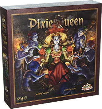 Game Brewer GAB001 Pixie Queen Juego de Estrategia de Mesa: Amazon ...