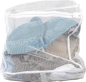 Sunbeam Mesh Intimates Delicate Wash Laundry Bag, White (Medium)