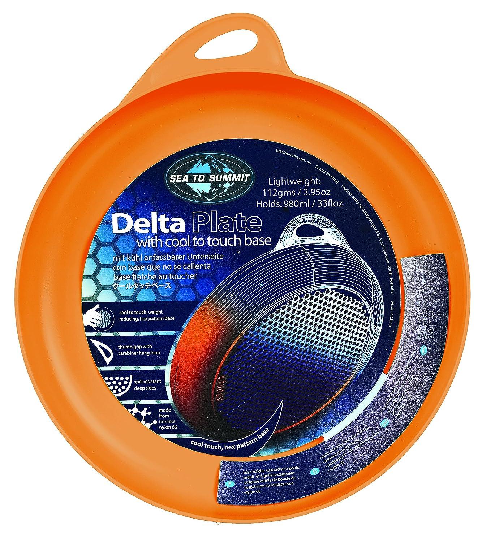 Sea to Summit Delta - Cubiertos de acampada, color naranja 303
