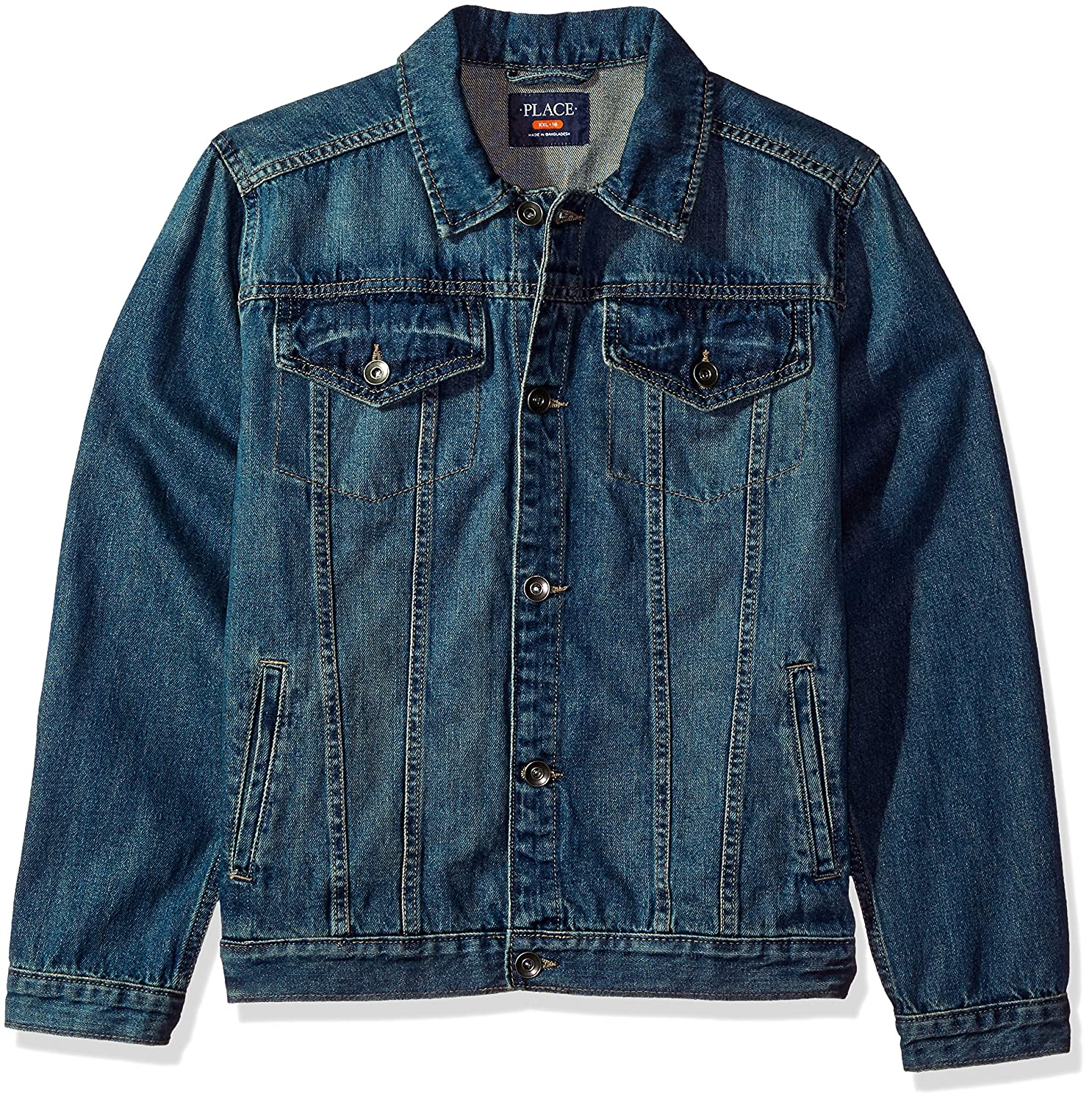 The Children's Place Boys' Basic Denim Jacket 2007785