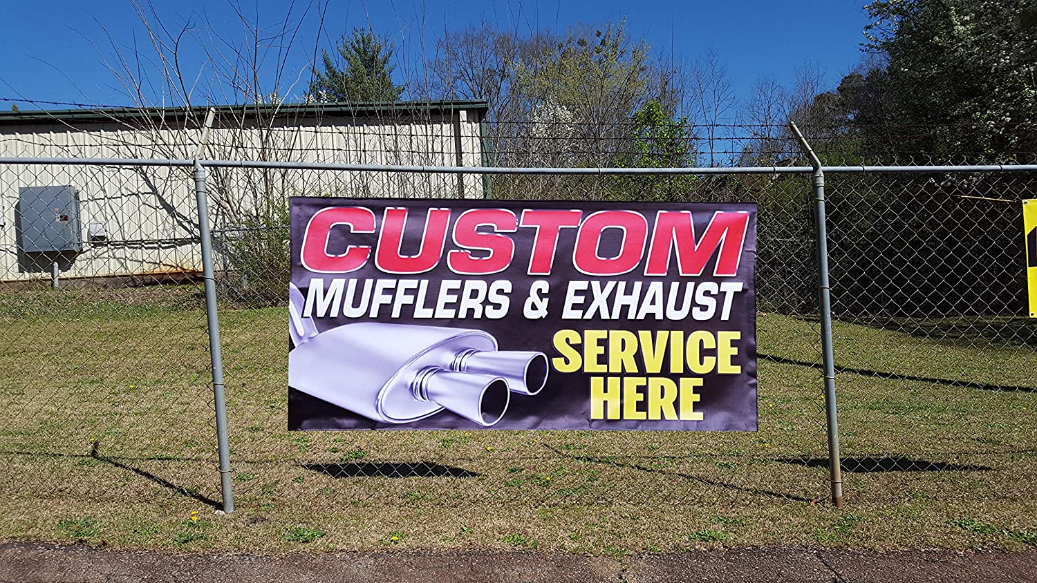 Custom Industrial Vinyl Banner Multiple Sizes Tire Sale Style C Personalized Text Here Automotive Outdoor Weatherproof Yard Signs Pink 10 Grommets 60x144Inches