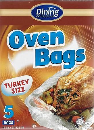 Colección de comedor horno bolsas, Turquía tamaño, grande, 5 ...