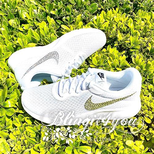 Nike Tanjun wolf greyblackgreen glow | Preisvergleich