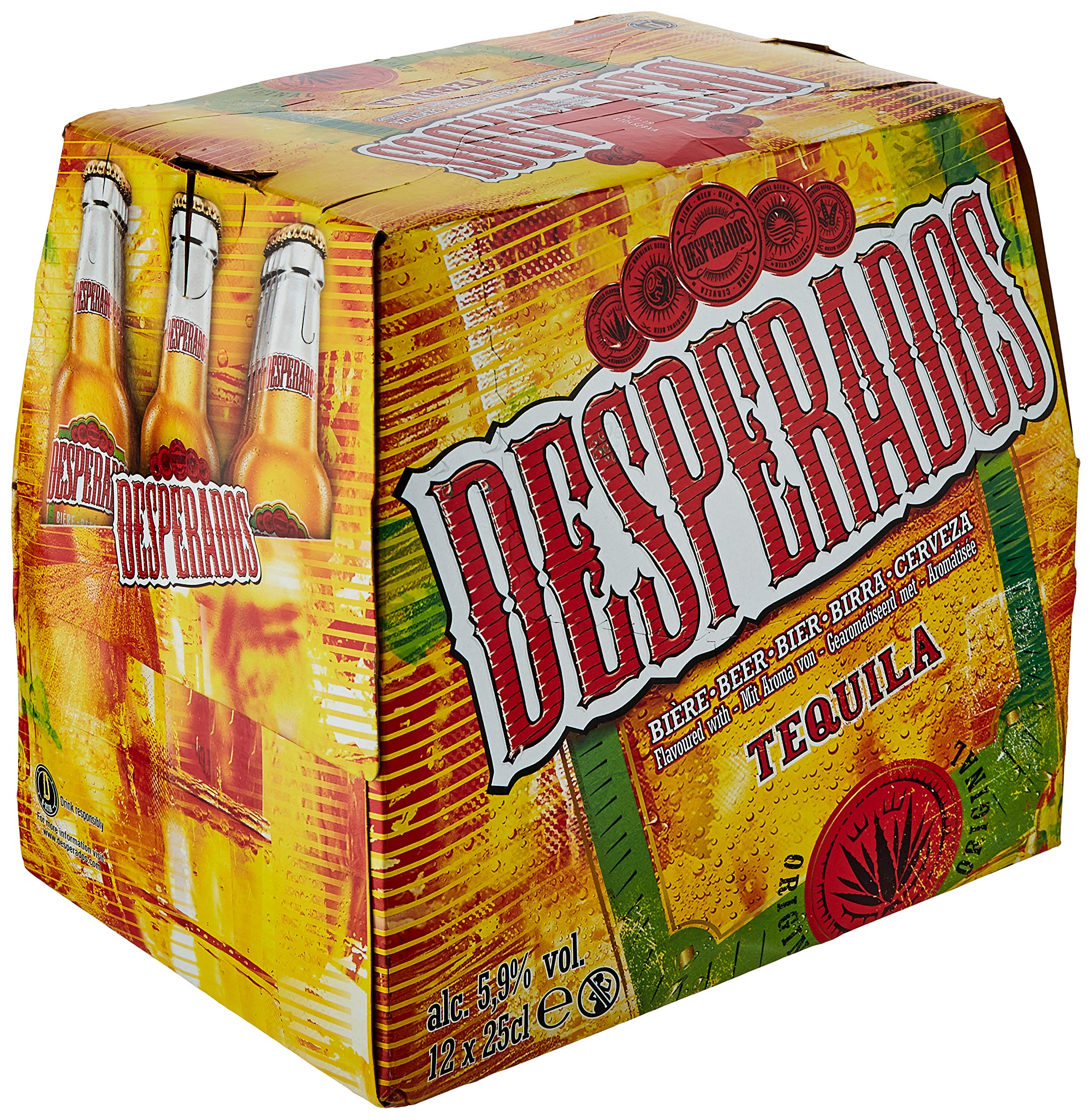 Desperados Beer Bottles 12x250ml Buy Online In Canada At Desertcart