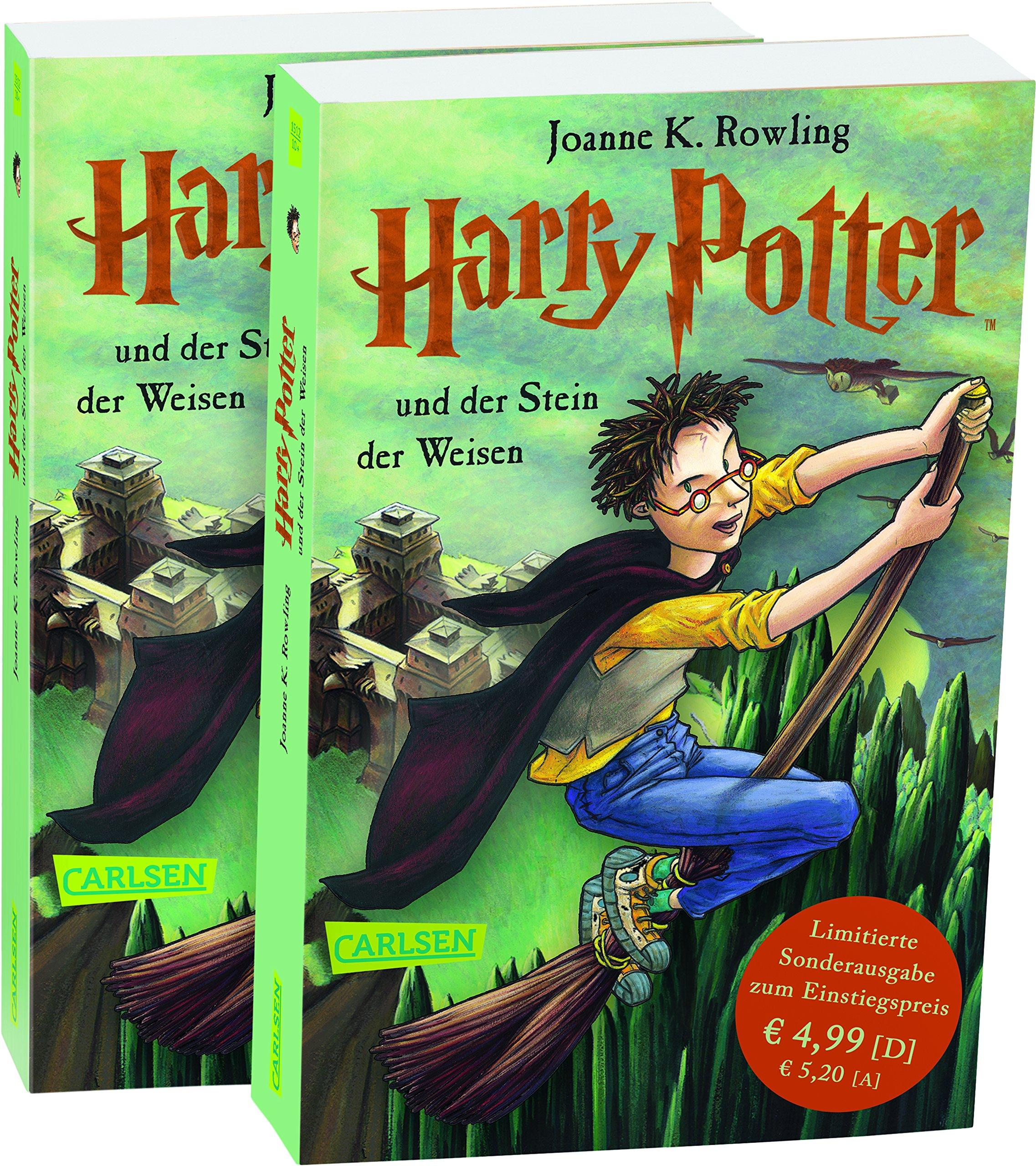 Harry Potter, Band 1: Harry Potter und der Stein der Weisen: Amazon.es:  Joanne K. Rowling, Klaus Fritz: Libros en idiomas extranjeros