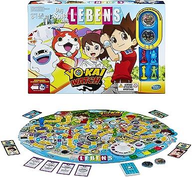 Hasbro Spiele B6493100 – Juego de la Vida Yokai Watch: Amazon.es: Juguetes y juegos