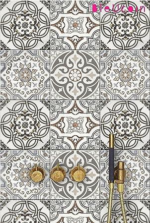 Gut Art Deco Style Fliesen Aufkleber Für Küche Und Badezimmer Backsplash,  Abnehmbare Treppe Riser Abziehbild,