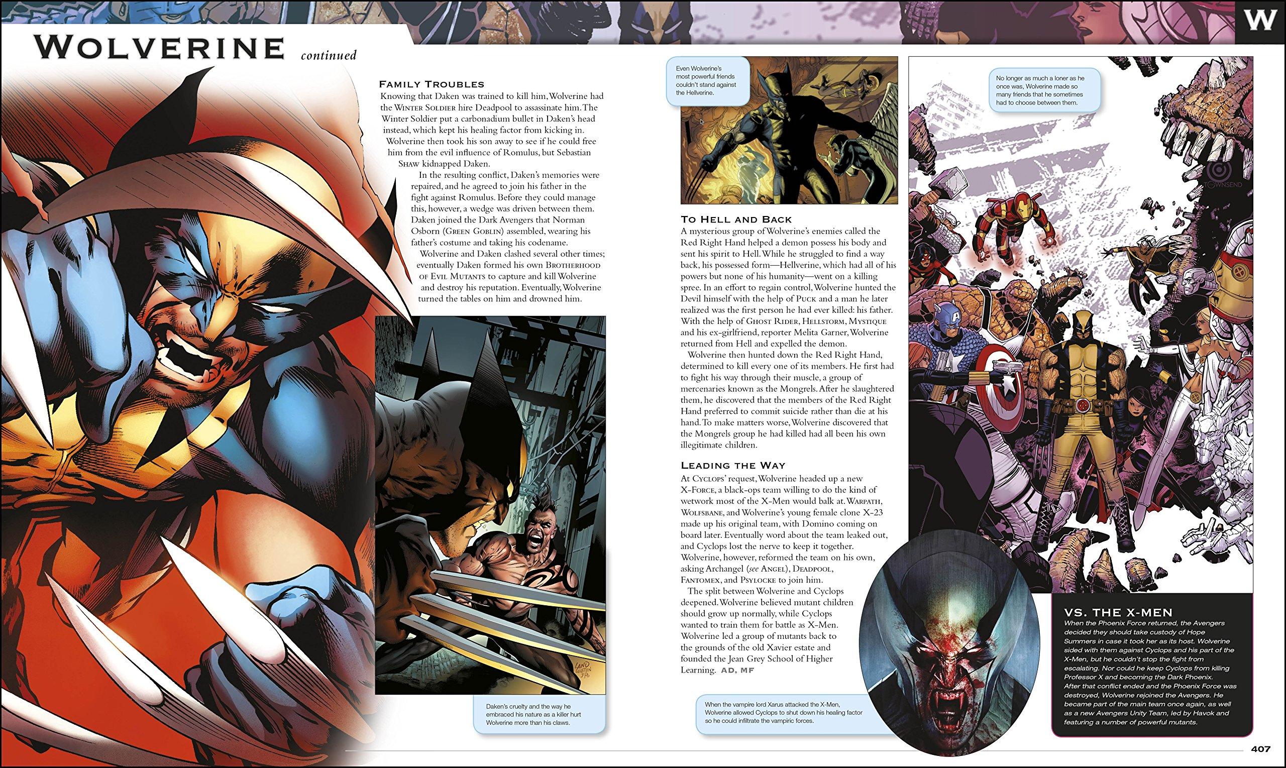 marvel comics encyclopedia