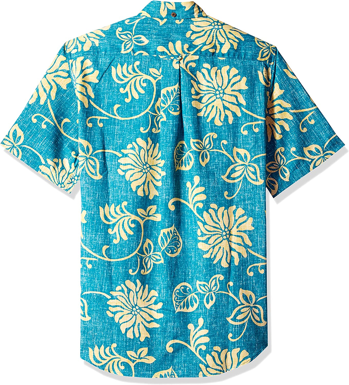 Reyn Spooner Mens Nane/'a Spooner Kloth Tailored Fit Hawaiian Shirt