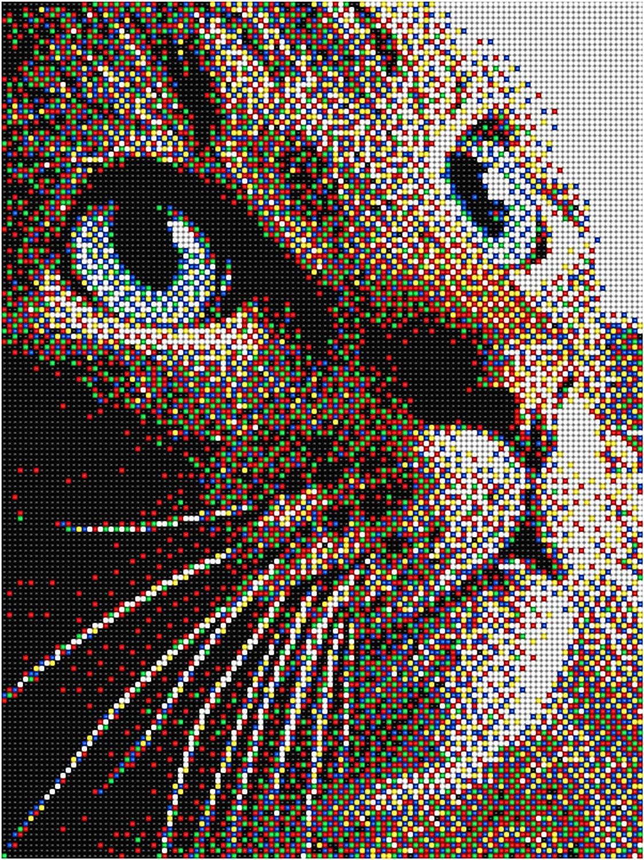 Tier Pixel Motive Mit 2 Basisplatten Alles 9