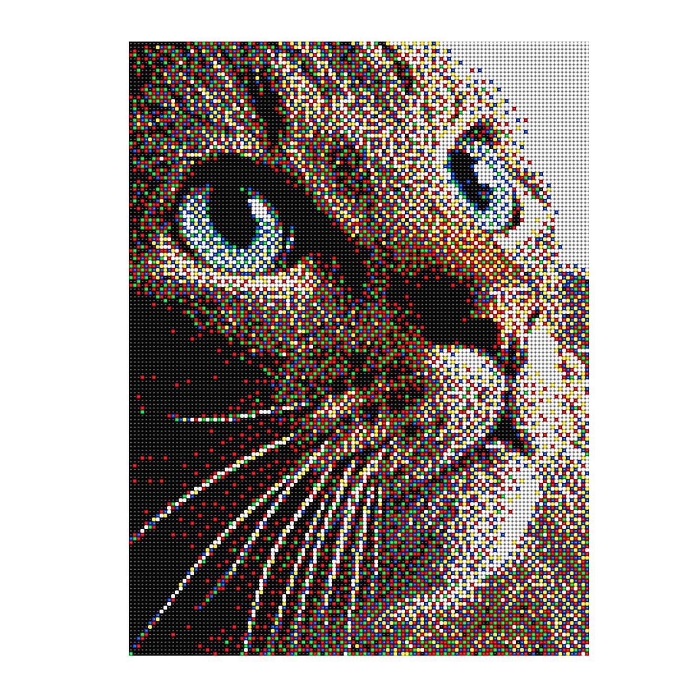 Pixel Art Multicolore Difficile