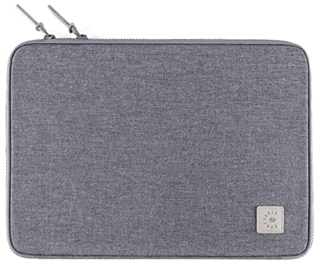 buy online 54614 9dcaf Comfyable Laptop Sleeve for 15 Inch New MacBook Pro 2018 & 2017- Clamshell  Case Allowing 2-Way Loading- Waterproof Mac Cover Case- Dark Grey