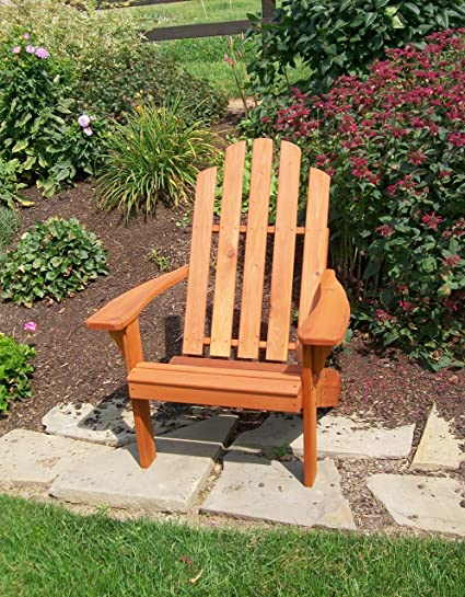 Tremendous Cedar Wood Adirondack Chair Amish Made Outdoor Chairs Weather Resistant Wooden Patio Deck And Porch Outside Furniture Modern Casual Rustic Style Interior Design Ideas Tzicisoteloinfo