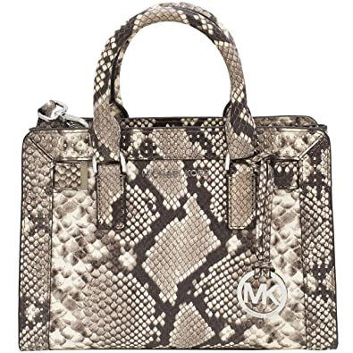 0dda802555c4f5 Michael Kors Handbag Bag Leather Python Snake Print: Handbags: Amazon.com