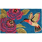 "Home & More 120261729 Hummingbird Delight Doormat, 17"" x 29"" x 0.60"", Multicolor"