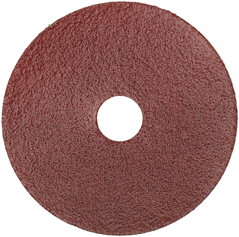 "B004J4WOT8 Norton Gemini Metalite F220 Abrasive Disc, Fiber Backing, Aluminum Oxide, 7/8"" Arbor, 7"" Diameter, Grit 36 (Pack of 25) A17mnadj2BKL._SL1500_"