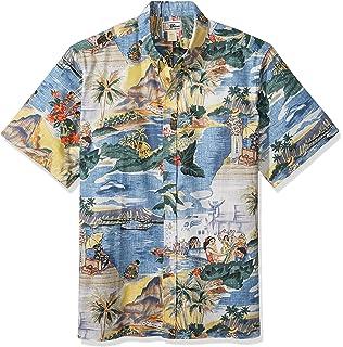 Reyn Spooner Men s Transpac 40 s Spooner Kloth Classic Hawaiian Shirt 3e12e6b03