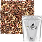 Tealyra - Euphoric Dark Chocolate Chai - Cocoa - Cinnamon - Anise - Herbal Loose Leaf Tea - Exquisite Luxury Blend - Relaxing - Soothing - Anti-Stress - All Natural - Caffeine Free - 112g (4-ounce)