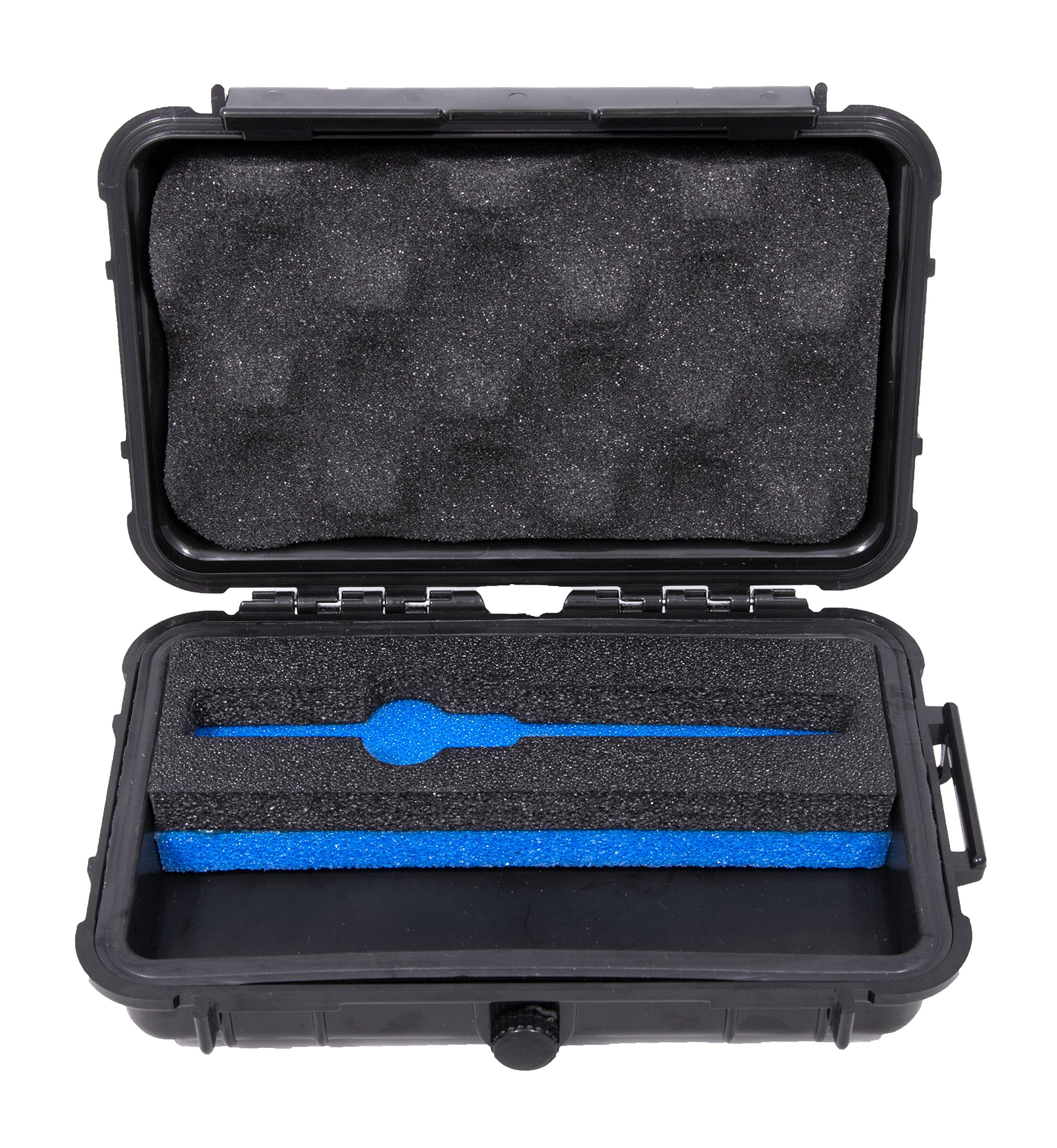 CLOUD/TEN Smell Proof Carry Case For V2 Pro Series 3x Portable Pen and Accessories Such as Cartridges, Coils, Atomizers, Charge Adapter and More - Includes FREE HERB CANISTER and GRINDER by CLOUD/TEN (Image #1)
