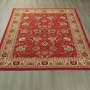 Superb Ottomanson Ottohome Collection Traditional Floral Design Modern Area Rug  With Non Skid (Non