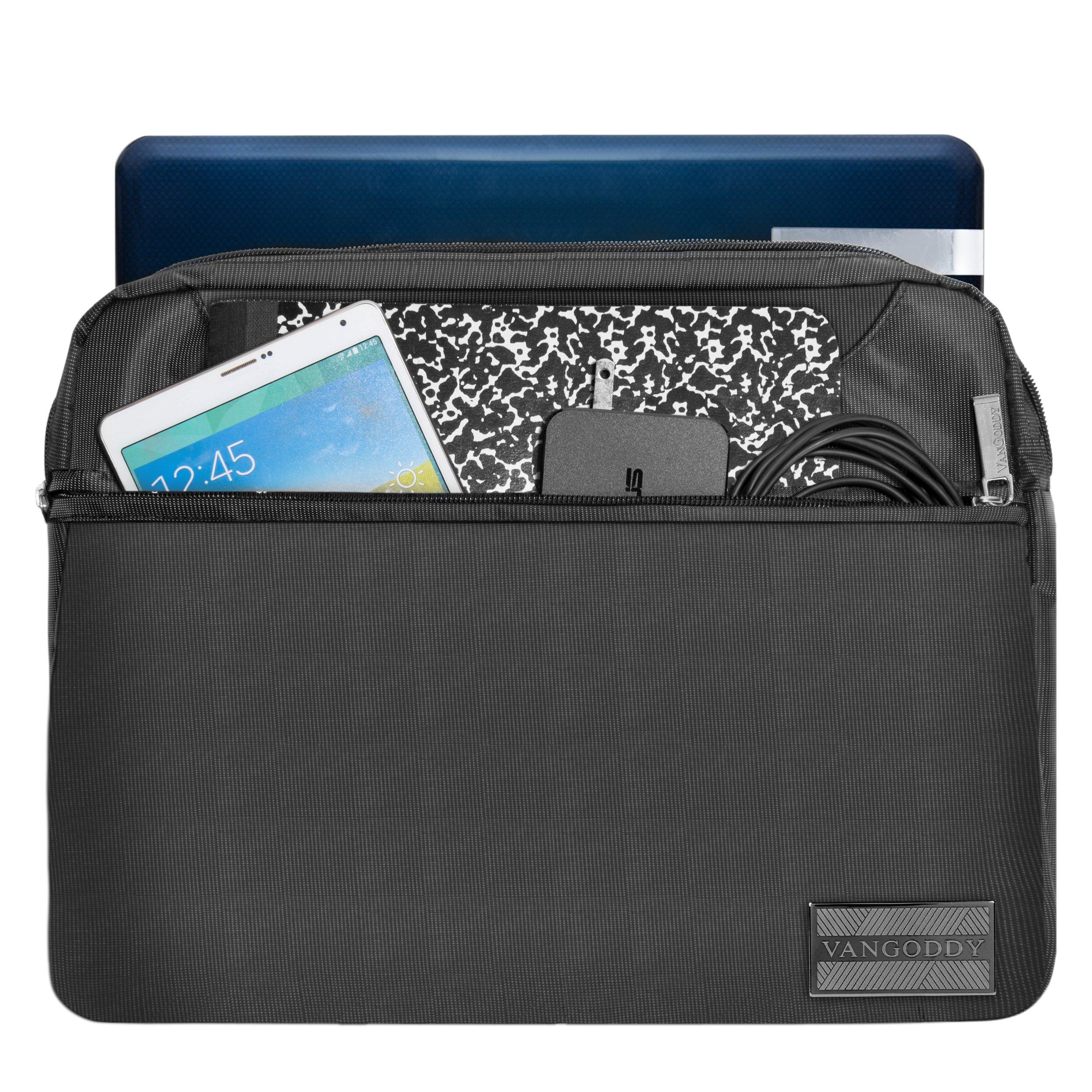 VanGoddy NineO Slim Slate Grey Messenger Bag for Microsoft Surface Laptop / Surface Book / Surface Pro Series 11''-13.5in by Vangoddy (Image #2)