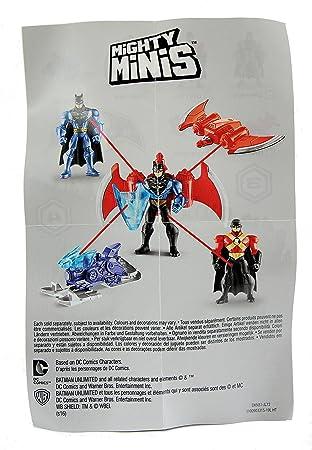 Nuevo 3 x Batman Mighty Minis Serie 3 bolsas ciego Red Robin Joker oficial