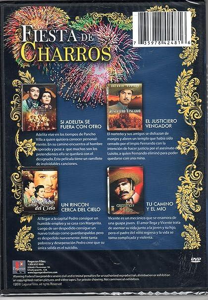 Fiesta De Charros 4 Peliculas Jorge Negrete Antonio Aguilar Movies Tv