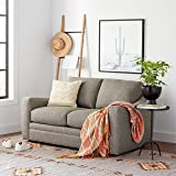 Amazon Brand – Stone & Beam Contemporary Stripes and Lines Throw Blanket - 60 x 50 Inch, Yellow