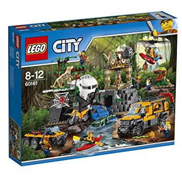 LEGO City Jeu De Construction Le Site Dexploration - Jeux de la jungle cuisine