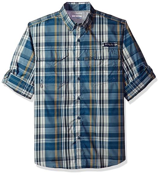 f47ef7530b7 Amazon.com : Columbia Men's Super Blood and Guts Long Sleeve Woven Shirt :  Clothing