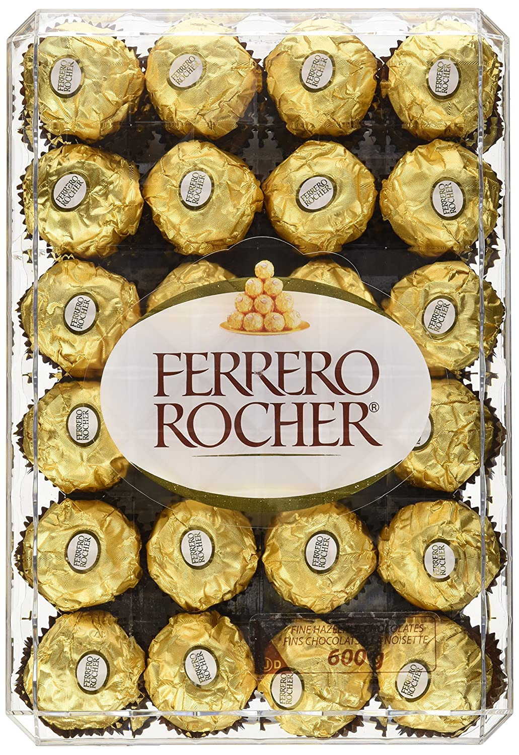 Today only: $12.59 (was $19.99) Ferrero Rocher T48 Diamond Box, 600 Grams