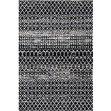 nuLOOM Moroccan Blythe Area Rug, 8' x 10', Black