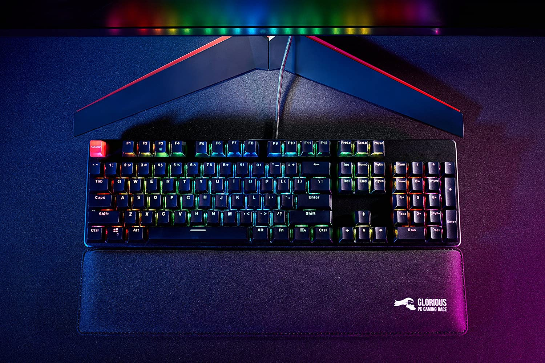 6976b0be5c0 Glorious Modular Mechanical Gaming Keyboard - Tenkeyless TKL (87 Key) - RGB  LED Backlit, Brown Switches, Hot Swap Switches (Black)(GMMK-TKL-BRN):  Amazon.ca: ...