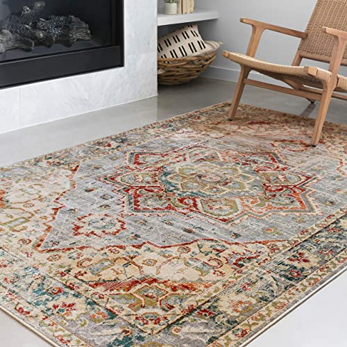 Loloi ll Isadora Collection Distressed Persian Area Rug