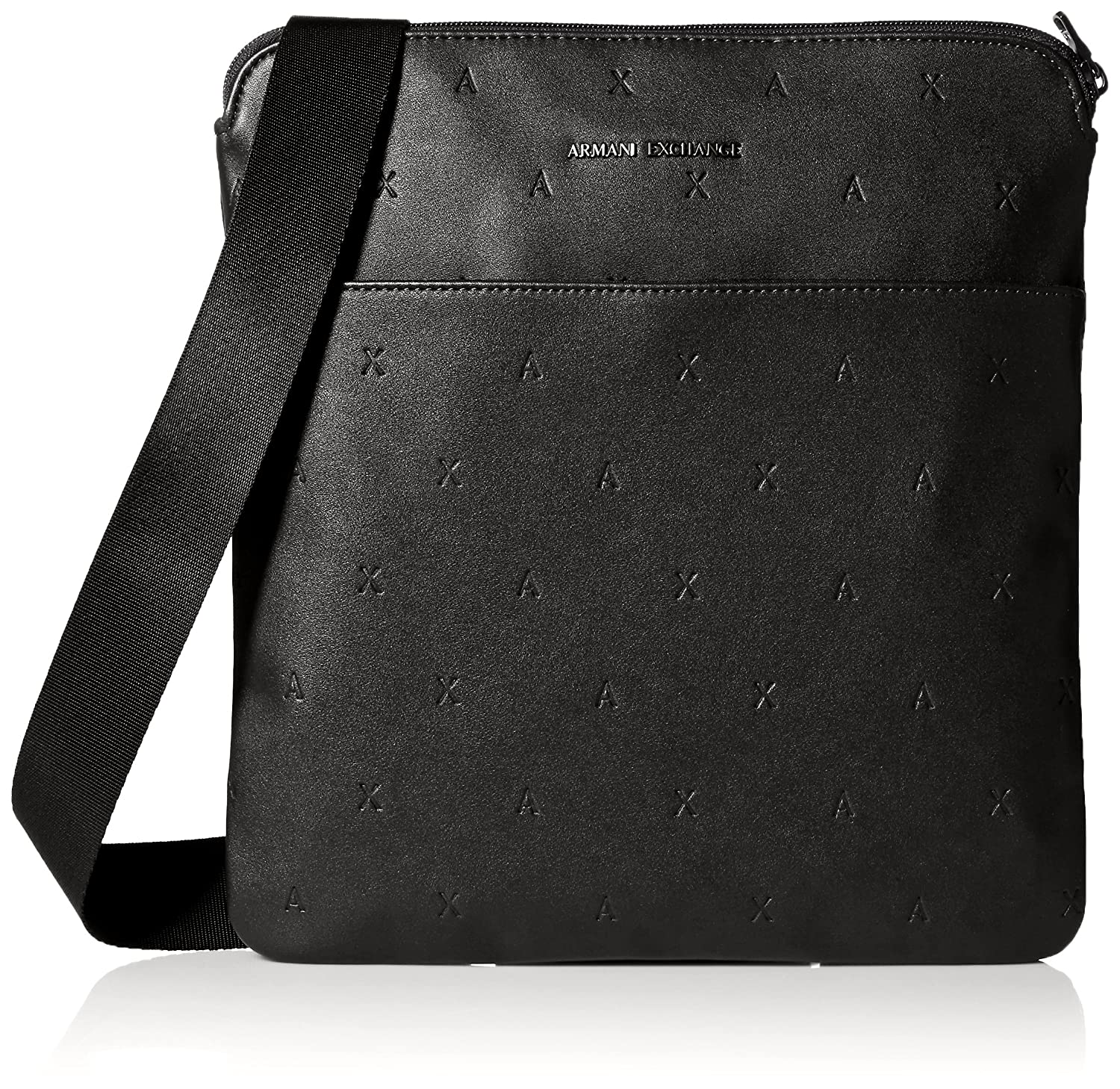554725c393 A|X Armani Exchange Men's All Over Embossed Medium Crossbody ...