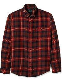 G.H. Bass & Co. Mens Long Sleeve Fireside Plaid Flannel Shirt