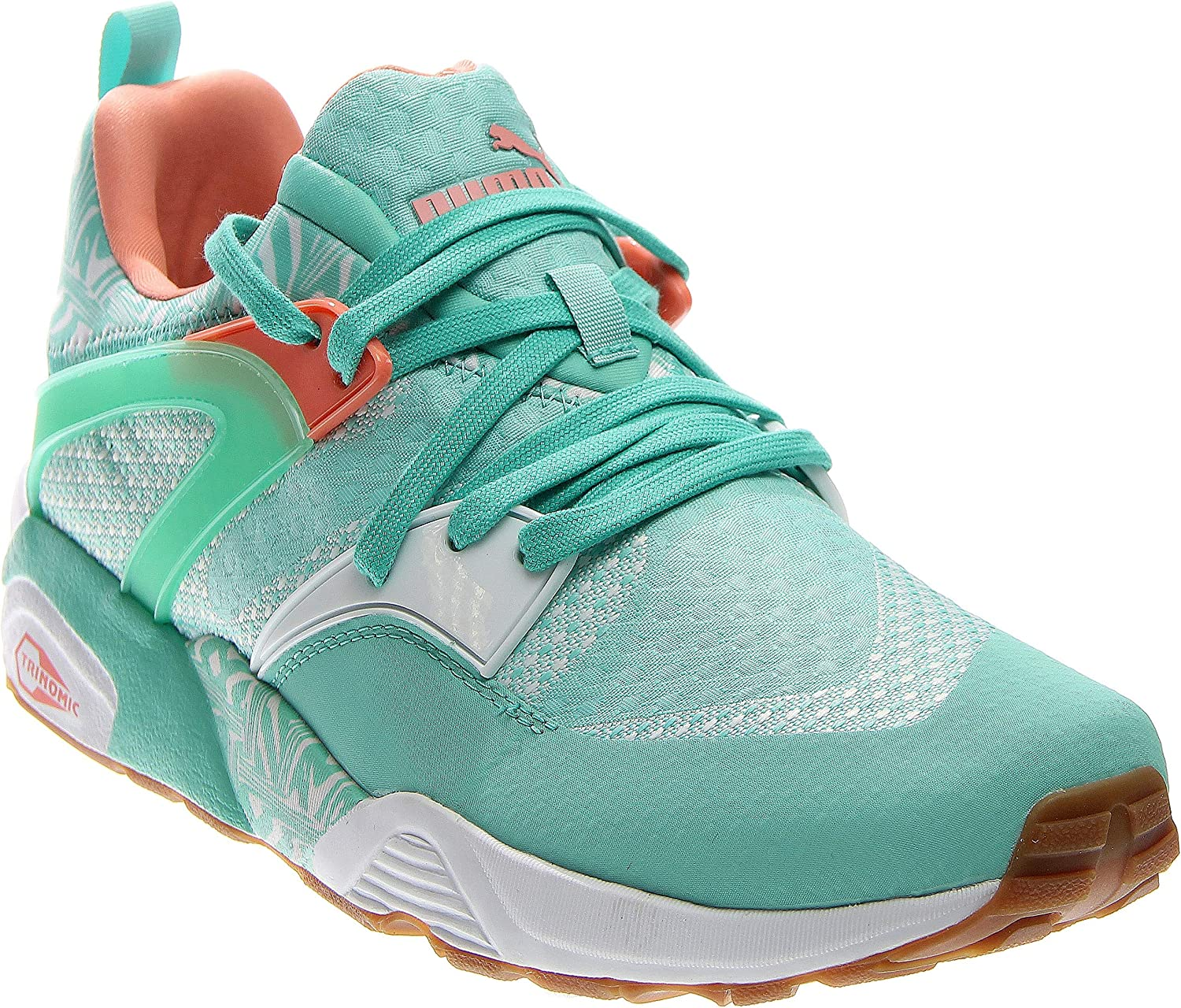 PUMA Mens Blaze of Glory Woven Running Casual Sneakers,