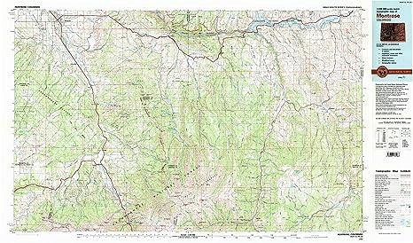 Amazon Com Yellowmaps Montrose Co Topo Map 1 100000 Scale 30 X