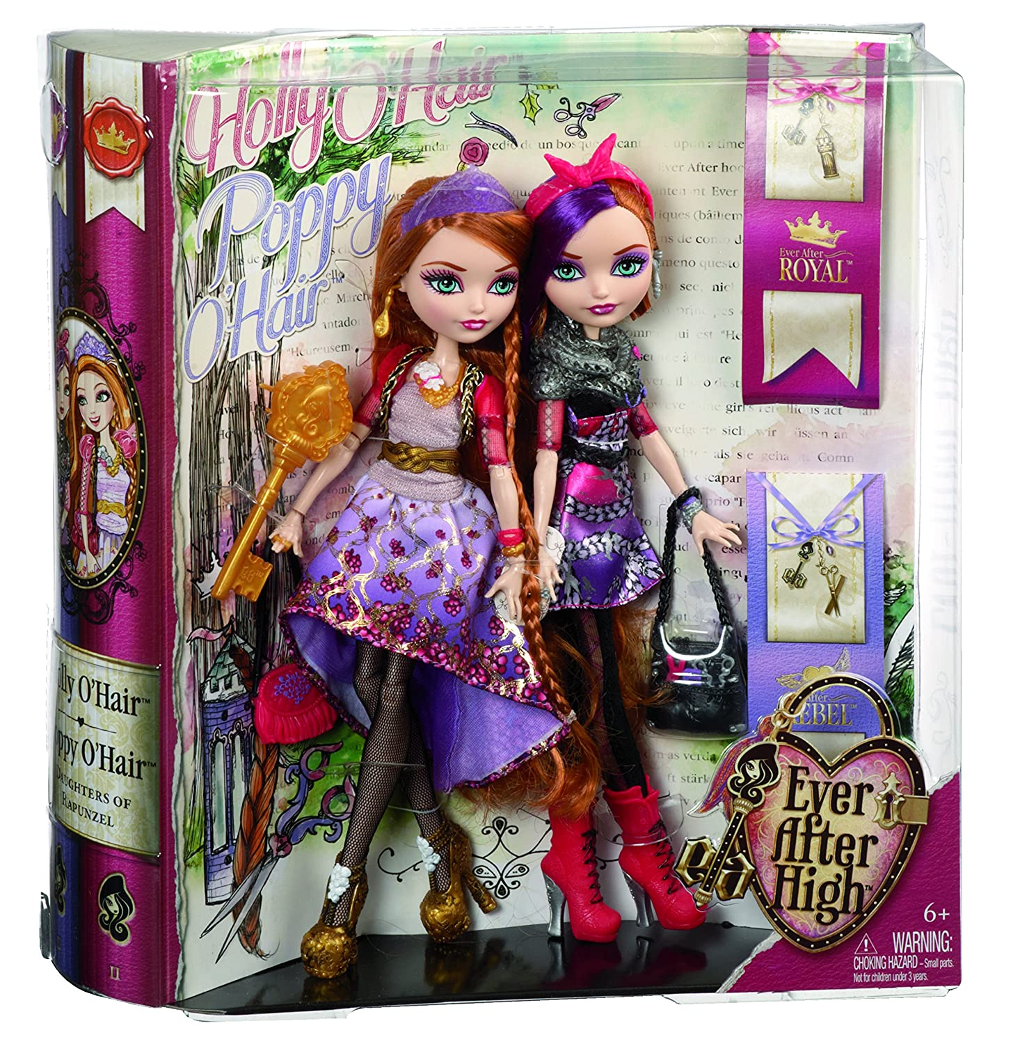 Holly And Poppy O Hair Ever After High Coloring Pages Printable | 1500x1466