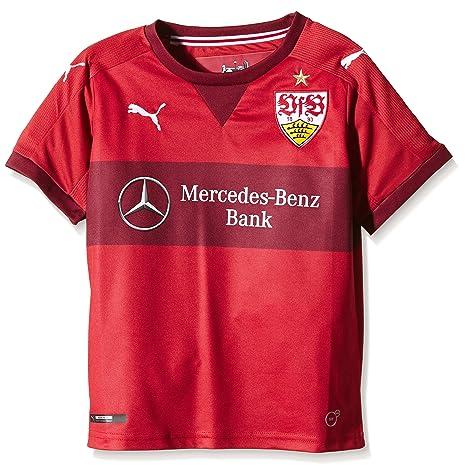 1561b5ede5 Puma Camiseta Deportiva Infantil VfB Stuttgart del Equipo Borussia Dortmund  Rojo Team Regal Red