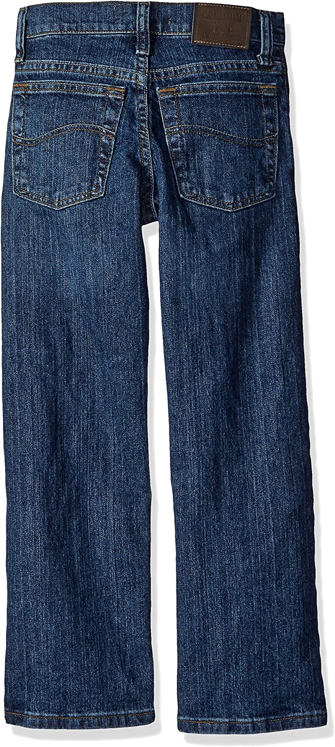 Lee Big Boys Premium Select Slim Straight Leg Jeans
