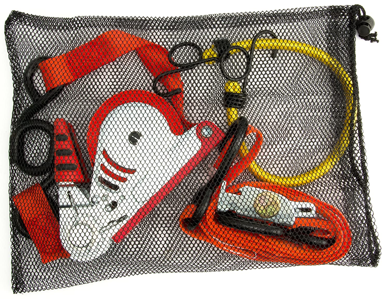 Erickson 06310 7 x 13 Mesh Storage Bag with Pull Cord