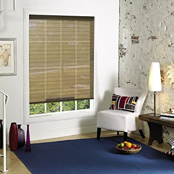 Amazon Ambria Cool And Comfortable InteriorExterior Brown Best Window Blinds For Living Room Exterior
