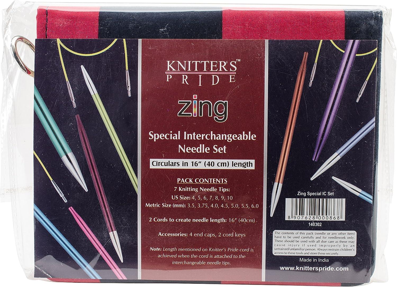 KP140301 Zing Deluxe Interchangeable Needles Set