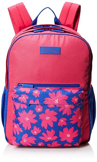 45a56df878b1 Amazon.com  Vera Bradley Women s Large Colorblock Backpack