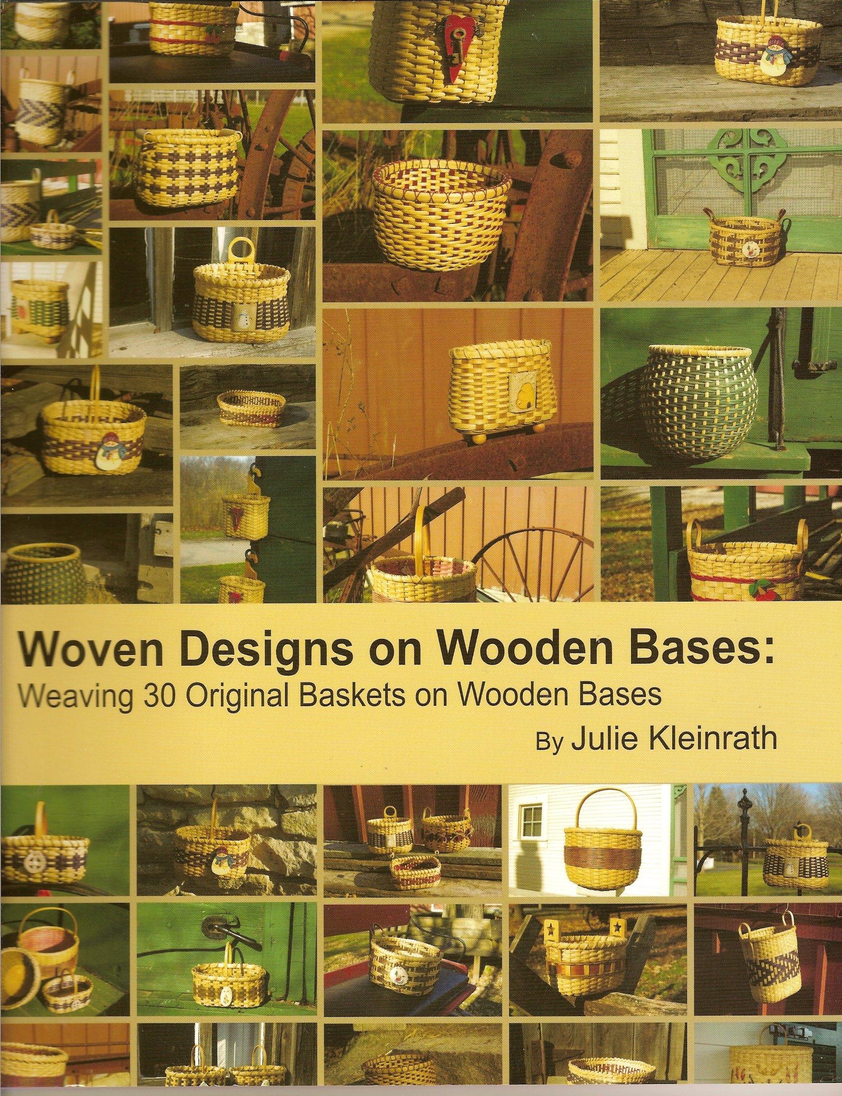 Download Woven Designs on Wooden Bases: Weaving 30 Original Baskets on Wooden Bases ebook