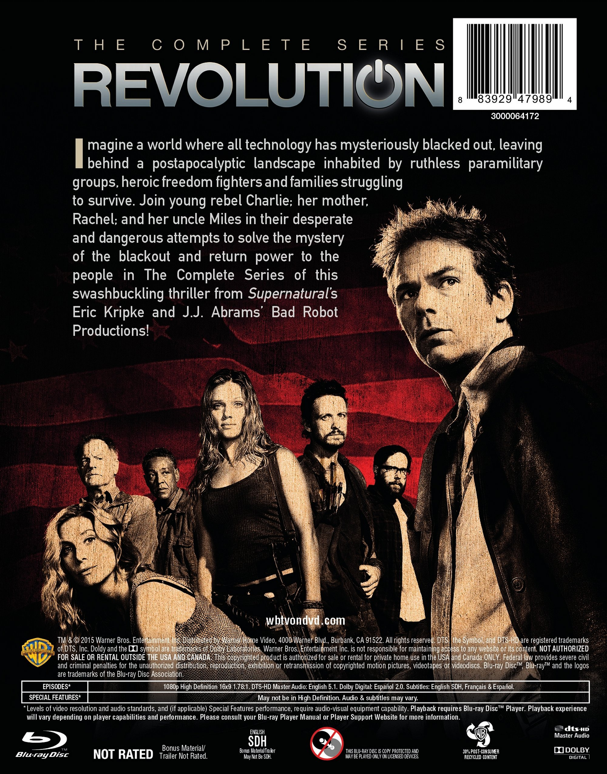 Revolution: The Complete Series [Blu-ray]