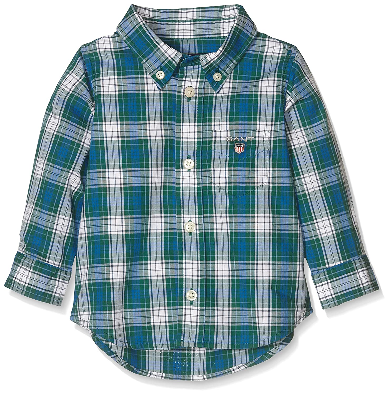 GANT Baby-Jungen Hemd O. Boy Broadcloth Plaid Shirt